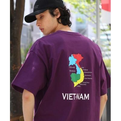 THE SHOP TK(Men)(ザ ショップ ティーケー(メンズ)) 【WEB限定】ベトジャンライク刺繍TEE