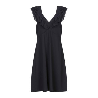 リュー ジョー LIU •JO ミニワンピース&ドレス ダークブルー 38 ポリエステル 100% ミニワンピース&ドレス