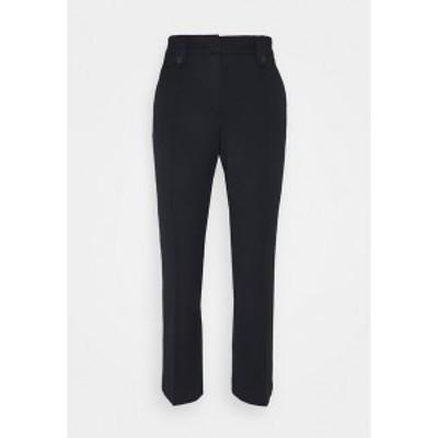 モア アンド モア レディース カジュアルパンツ ボトムス KICK FLARE PANTS - Trousers - marine marine