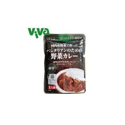 桜井食品 ベジタリアンのための野菜カレー(レトルト)中辛 200g(1人前)