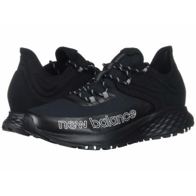ニューバランス スニーカー シューズ メンズ Fresh Foam Roav Trail Black/White Textile