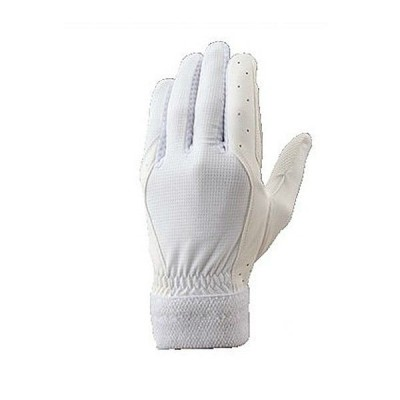 ゼット 野球 守備用手袋 BG259 ホワイト メール便送料無料