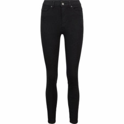 ヒューゴ ボス Boss レディース ジーンズ・デニム スキニー ボトムス・パンツ Super Skinny Crop Jeans Black