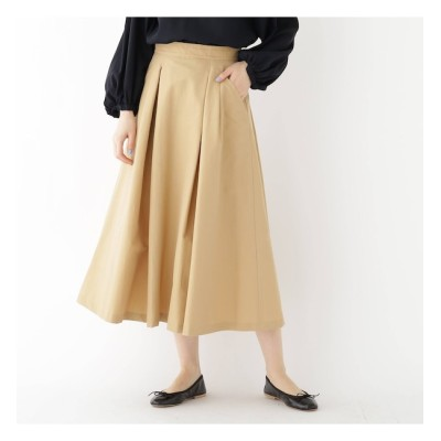 【ドレステリア/DRESSTERIOR 】 タックフレアースカート