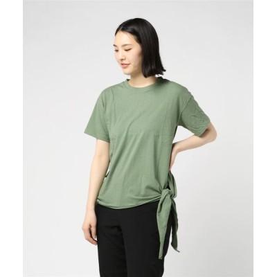 tシャツ Tシャツ 裾リボンTシャツ