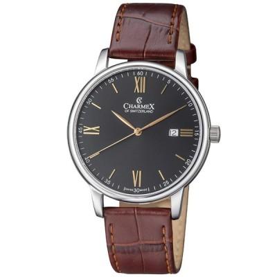 【並行輸入品】Charmex Luxury Men's 'Amalfi' Wrist Watch Stainless Steel Case and B
