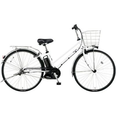 PANASONIC BE-ELDT756-F シェードホワイト ティモ・DX [電動アシスト自転車(27インチ・内装5段)] 電動自転車
