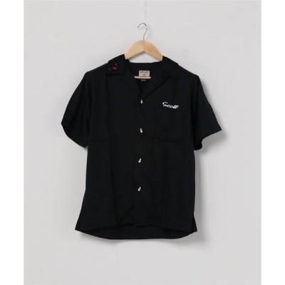 シャツ ブラウス 【HOUSTON】ボーリングシャツ(WORLD)
