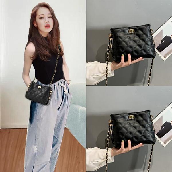 包包新款小女包限定洋氣時尚百搭韓版單肩斜背鏈條包ins潮 8號店