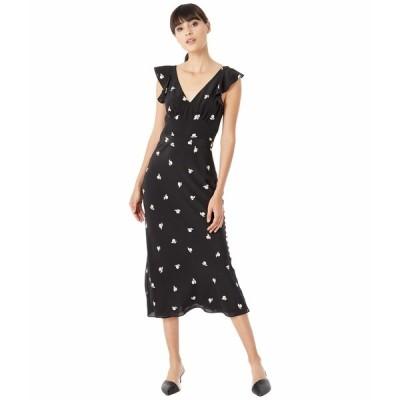 ジェイソンウー ワンピース トップス レディース Berry Open Back Dress Black Multi