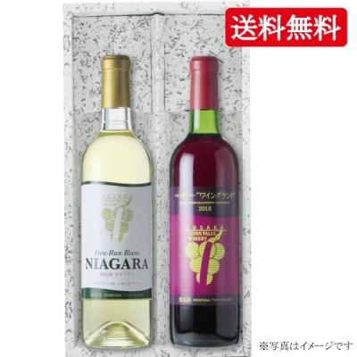 【送料無料】小坂七滝ナイアガラ・ワイングランドセット 720ml×2本