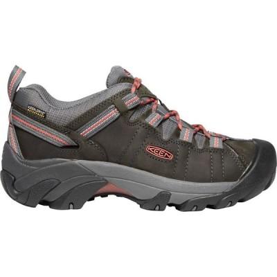 キーン KEEN レディース ハイキング・登山 シューズ・靴 Targhee II Waterproof Hiking Shoe Magnet/Coral