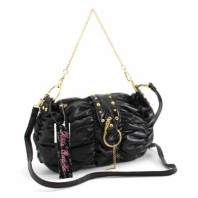 ローズクォーツ バッグ ショルダーバッグ ハンドバッグ 黒 ROSE QUARTZ shm095-rl701 レディース 婦人