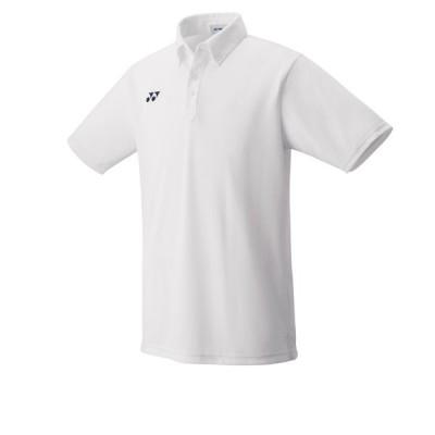 ヨネックス YONEX 10438 ユニゲームシャツ テニス・バドミントン ウエア(ユニ) ホワイト