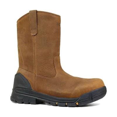 ボグス メンズ ブーツ・レインブーツ シューズ Bogs Men's Bedrock Wellington Soft Toe Boot