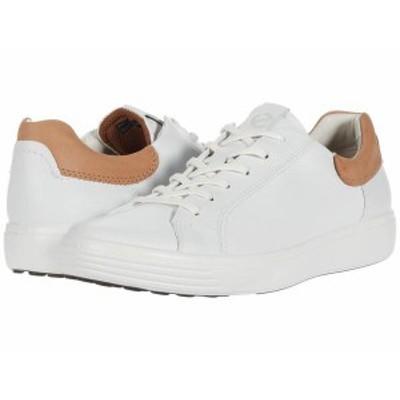 エコー メンズ スニーカー シューズ Soft 7 Street Sneaker White/Cashmere