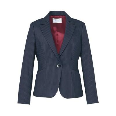 カーシーカシマ KARSEE 美スラッと(R) Suits ジャケット EAJ-474 2 ネイビーストライプ カーシー 春夏 秋冬 オフィスウェア 事務服