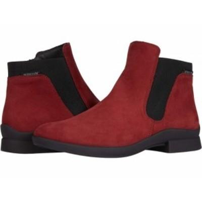 Mephisto メフィスト レディース 女性用 シューズ 靴 ブーツ アンクル ショートブーツ Soria 1 Burgundy Bucksoft【送料無料】