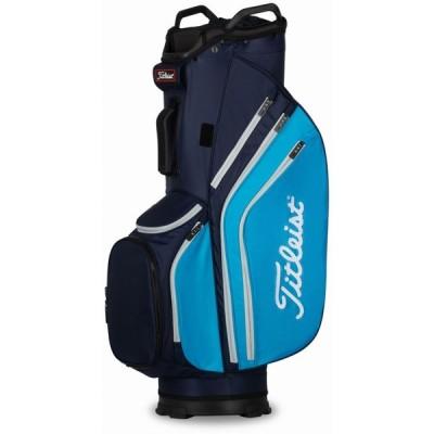 タイトリスト Titleist メンズ ゴルフ カートバッグ 2020 Cart 14 Lightweight Cart Golf Bag Navy/Dorado/Gray