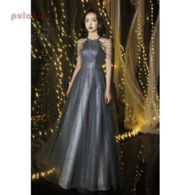 ロングドレス ウエディングドレス パーティードレス 10代 20代 30代40代 結婚式ワンピース 着痩せ 上品 大人 お呼ばれ 二次会 披露宴 卒業式 成人式