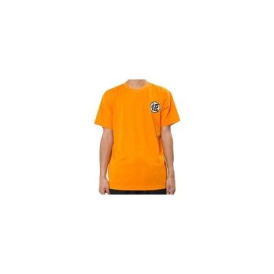 ドラゴンボール 悟空 スポーツTシャツ X513-601 オレンジ・A14 男女兼用