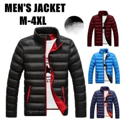 中綿 ダウンジャケット メンズ  ジャケット ブルゾン コート メンズ アウター ミリタリージャケット 中綿ジャケット 秋 冬 防寒 防風