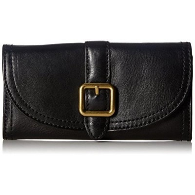 フライ 財布(レディース用) FRYE Claude Continental Snap Leather Wallet