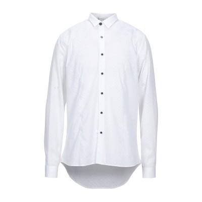 NEILL KATTER シャツ ホワイト XXL コットン 60% / レーヨン 40% シャツ
