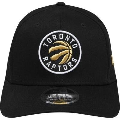 ニューエラ New Era メンズ キャップ 帽子 950 Stretch Baseball Cap Raptors Black/G