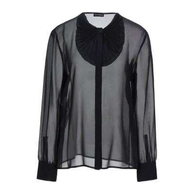 エンポリオ アルマーニ EMPORIO ARMANI シャツ ブラック 44 シルク 100% シャツ