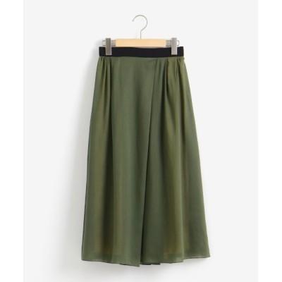 【ニーム/NIMES】 ボイル/サテンリバーシブルスカート