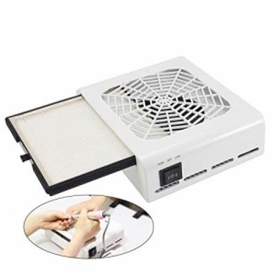 ダストコレクター ネイルダストコレクター ネイルダストクリーナー ネイルダスト集塵機 ネイル集塵機 110V 40Wネイリストのダスト対策 2