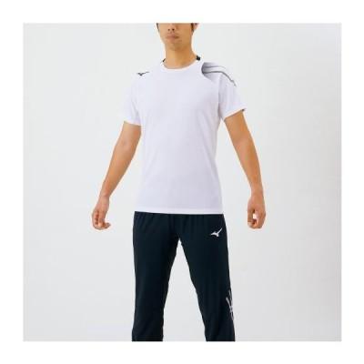 ミズノ公式 MCラインTシャツ ユニセックス ホワイト
