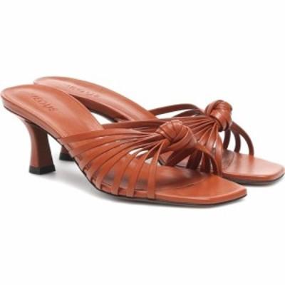 ネオアス Neous レディース サンダル・ミュール シューズ・靴 Lottis leather sandals Almond