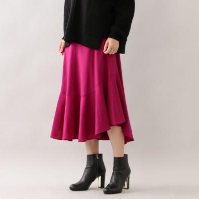 ウールボリュームスカート