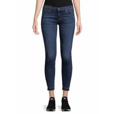 ハドソン レディース パンツ デニム Distressed Cropped Jeans