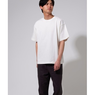 tシャツ Tシャツ 【BLUE STANDARD】オーガニックコットン  無地 ビッグシルエットTシャツ