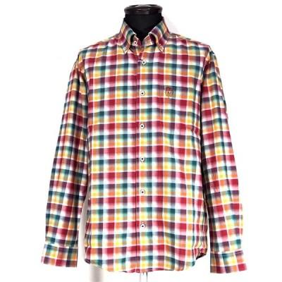 Vittorio Carini ボタンダウンシャツ 長袖 綿(コットン) M/L/LL メンズ ファッション 服 カジュアル 日本製 秋冬 春