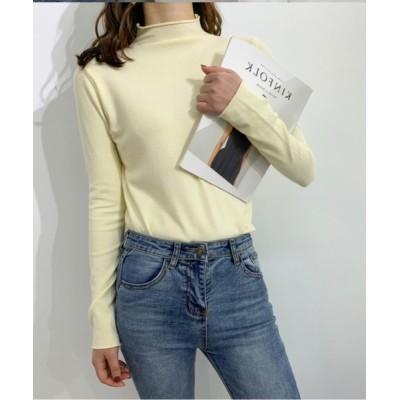 CERCA / HALEY PESCA/切りっぱなし風タートルネックセーター WOMEN トップス > ニット/セーター