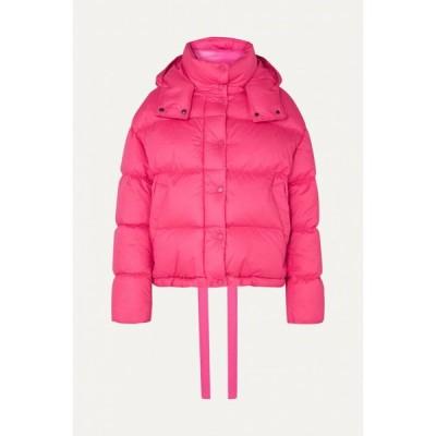 モンクレール Moncler レディース ダウン・中綿ジャケット フード アウター hooded quilted cotton down jacket