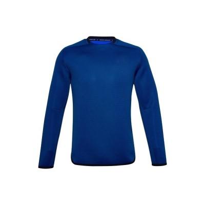 アンダーアーマー カットソー メンズ トップス UA /MOVE CREW - Long sleeved top - blue