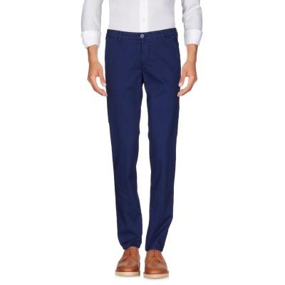 マニュエル リッツ MANUEL RITZ パンツ ブルー 33 コットン 97% / ポリウレタン 3% パンツ