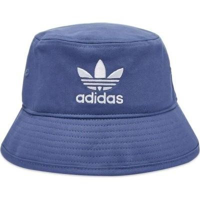 アディダス Adidas メンズ ハット バケットハット 帽子 bucket hat Crew Blue/White
