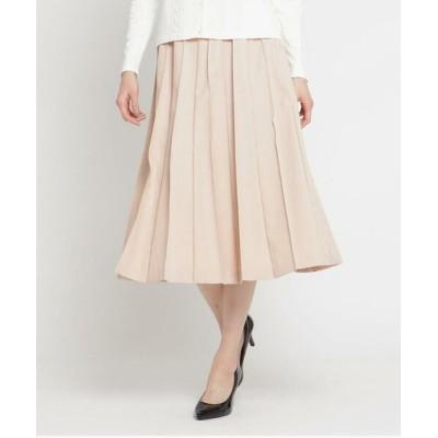 SunaUna/スーナウーナ リノツイルプリーツスカート ライトオレンジ(066) 40(L)