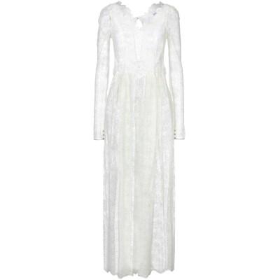 パコ ラバンヌ PACO RABANNE ロングワンピース&ドレス アイボリー 36 ナイロン 60% / レーヨン 40% ロングワンピース&ドレス
