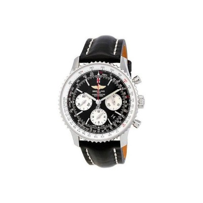 ブライトリング 腕時計 Breitling Navitimer オートマチック クロノグラフ メンズ 腕時計 AB012012-BB01BK