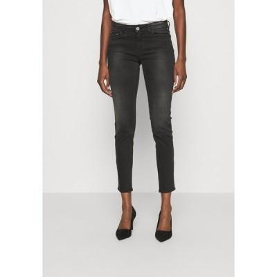 リプレイ カジュアルパンツ レディース ボトムス FAABY - Slim fit jeans - dark grey