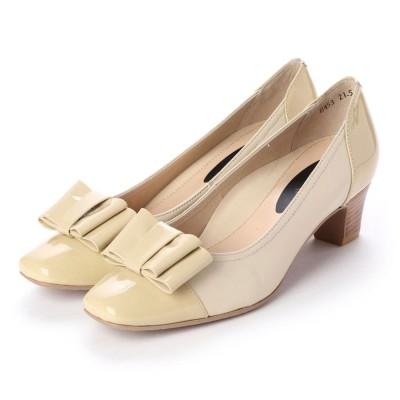 シューズラウンジ アウトレット shoes lounge OUTLET パンプス 31E4534BGE/I (ベージュ)