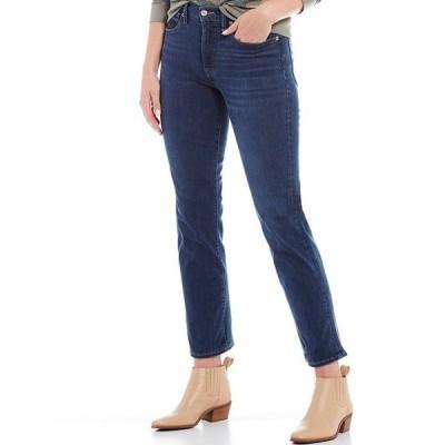 ラッキーブランド レディース デニムパンツ ボトムス Bridgette High Rise Straight Leg Jeans