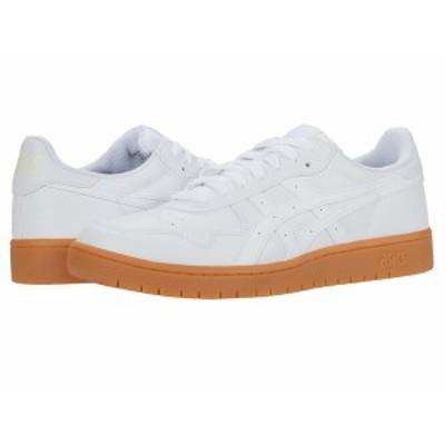 アシックス メンズ スニーカー シューズ Japan S White/White